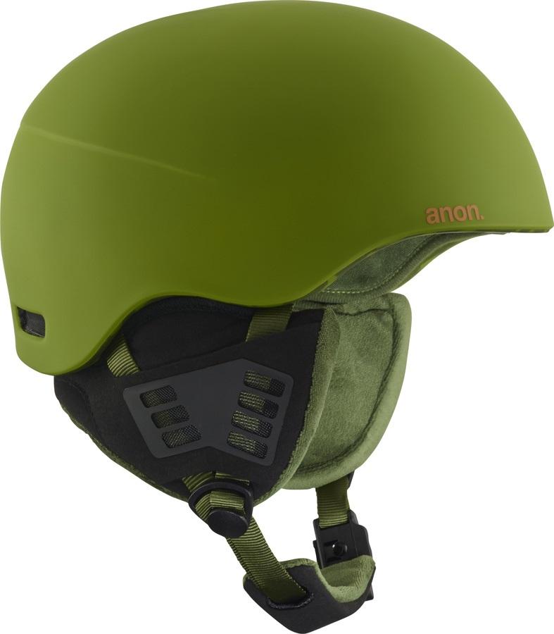 Anon Helo 2.0 Ski/Snowboard Helmet, S Mad Trees Green