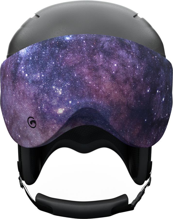 Gogglesoc Snowboard/Ski Visor Lens Cover, Galactic Visorsoc