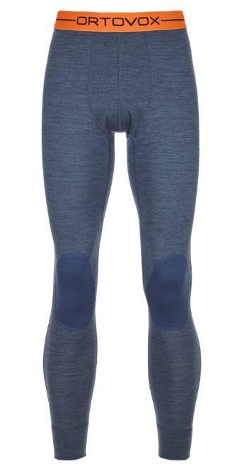 Ortovox Rock'n'Wool Long Thermal Pants XL Night Blue Blend