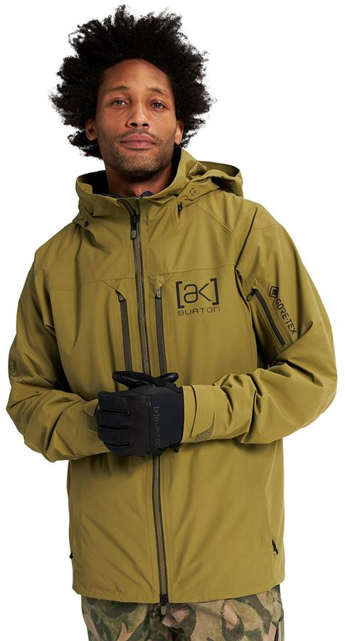Burton [ak] 2L Swash Gore-Tex Ski/Snowboard Jacket L Martini Olive