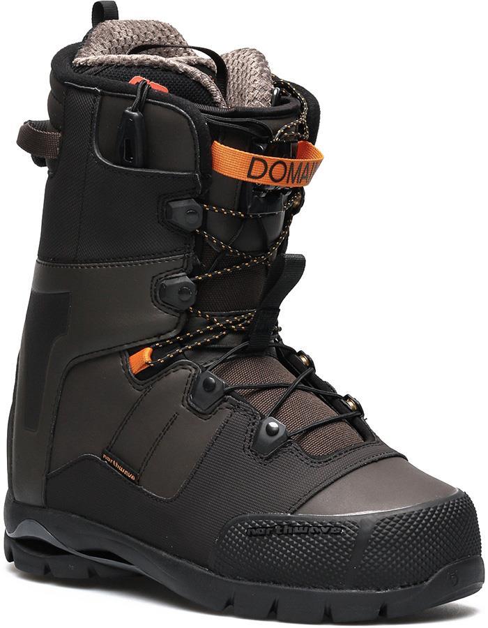 Northwave Domain SL Snowboard Boots, UK 9 Brown 2019