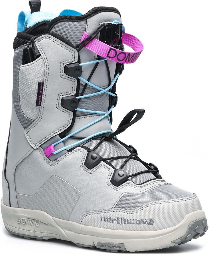 Northwave Domino SL Women's Snowboard Boots, UK 6.5 Grey 2019