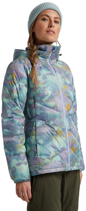 Burton Womens [ak] Baker Down Insulated Snowboard Jacket S Aura