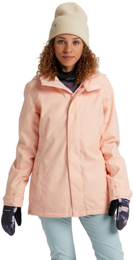 Burton Jet Set Women's Snowboard/Ski Jacket, S Peach Melba