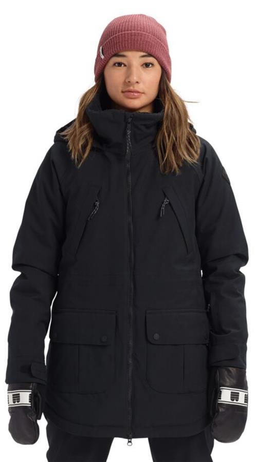 Burton Prowess Women's Snowboard/Ski Jacket, UK 12 True Black