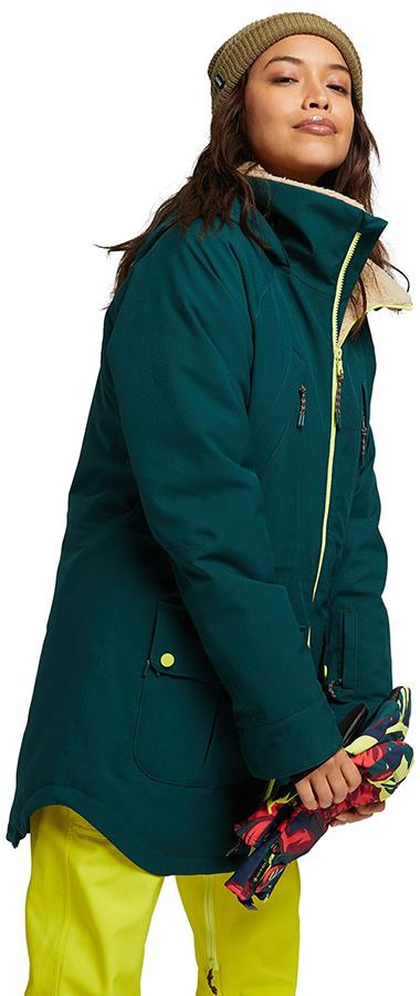 Burton Prowess Women's Snowboard/Ski Jacket, S Ponderosa Pine