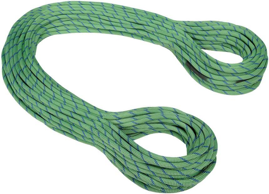 Mammut Twilight Dry Rock Climbing Rope, 60m x 7.5mm Neon Green