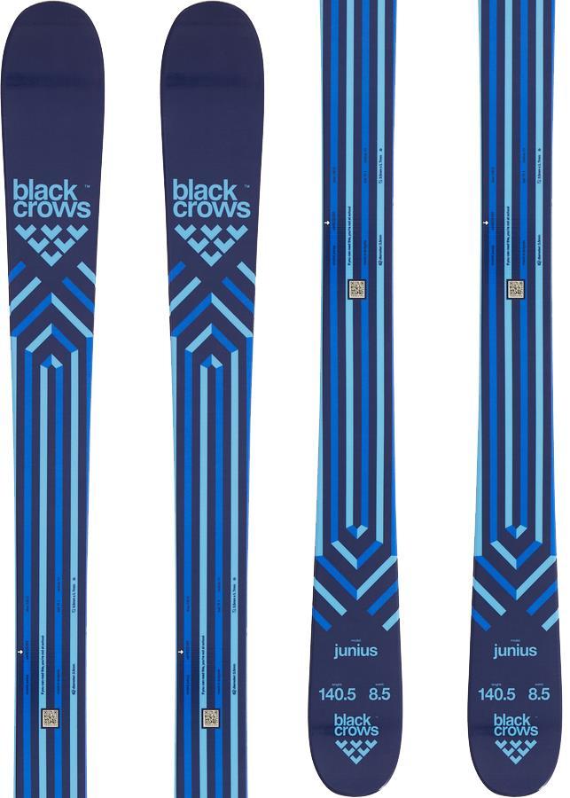 Black Crows Junius Ski Only Kid's Skis, 140cm Blue/Black