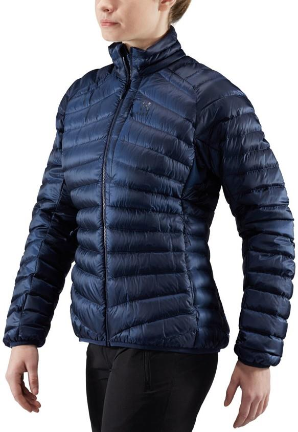 Haglofs Women's Essens Down Insulated Lightweight Jacket, L Tarn Blue