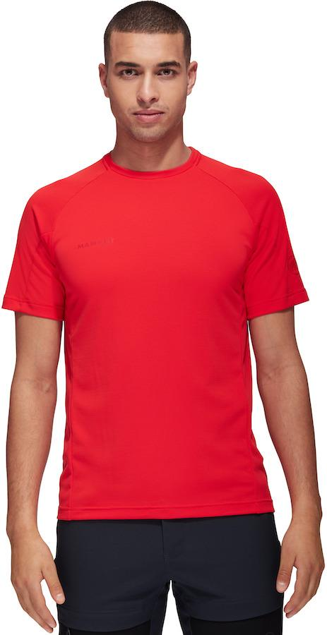 Mammut Adult Unisex Aegility Technical Short Sleeve T-Shirt, M Spicy