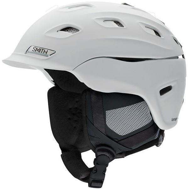 Smith Vantage Women's Snowboard/Ski Helmet, S Matte White