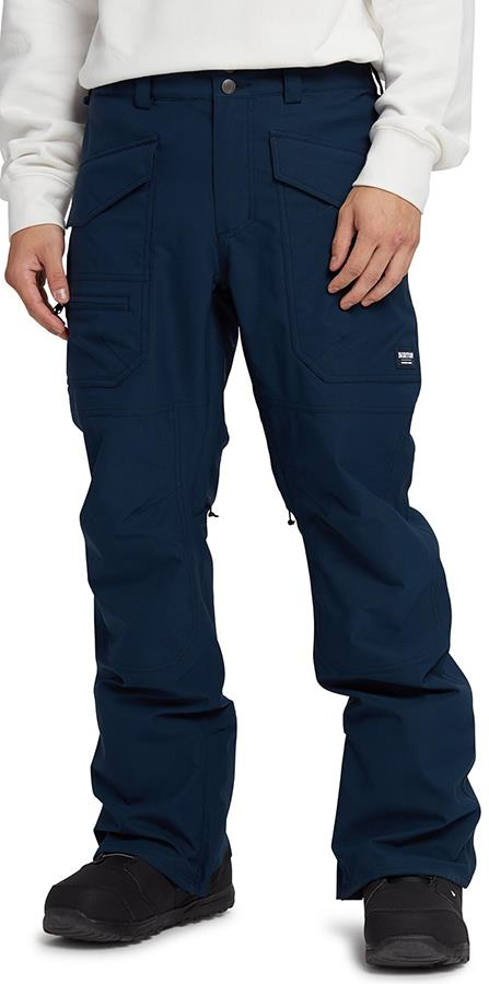 Burton Southside Slim Snowboard/Ski Pants, M Dress Blue