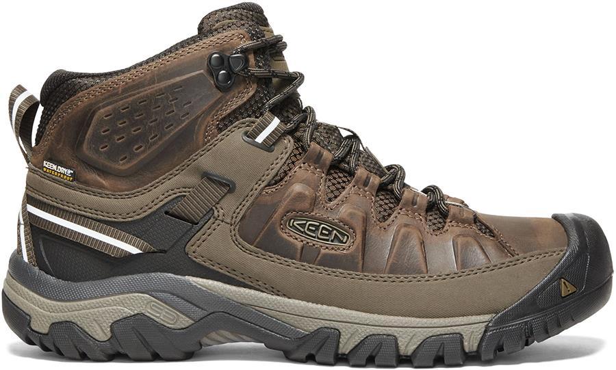 Keen Targhee III Mid WP Hiking Boots, UK 8 Canteen/Mulch