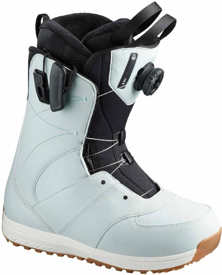 Salomon Ivy BOA SJ Women's Snowboard Boots, UK 4.5 Sterling Blue 2020