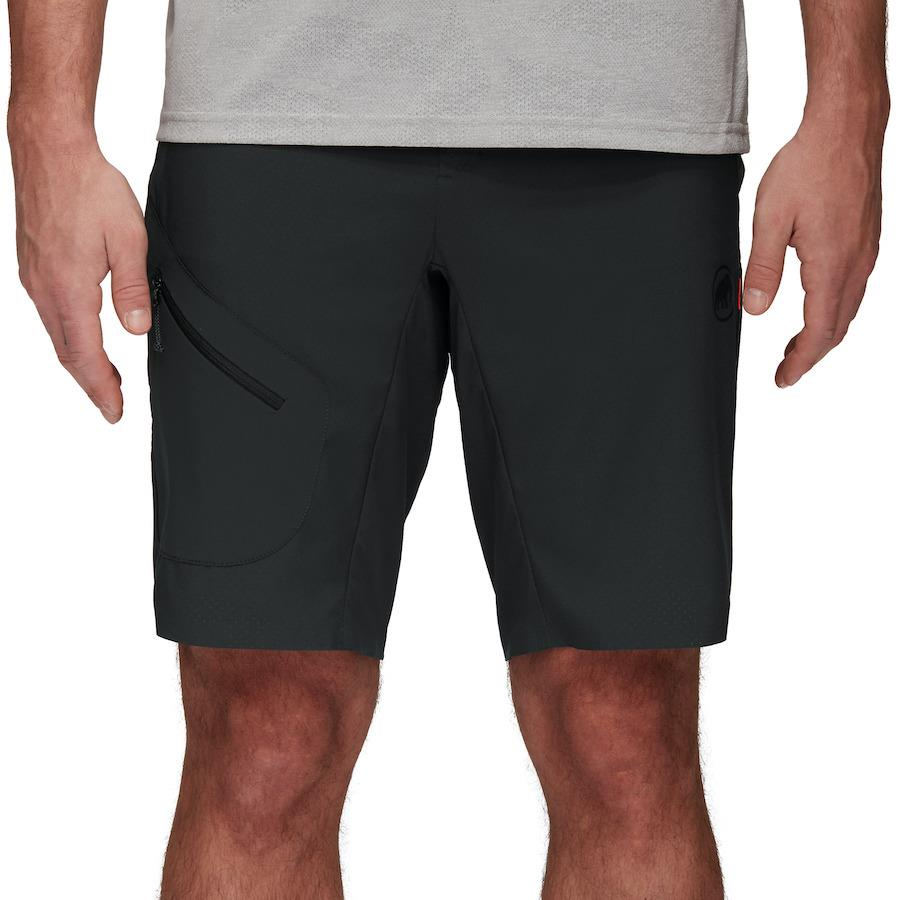 Mammut Sertig Men's Climbing/Hiking Shorts, UK 32 Black