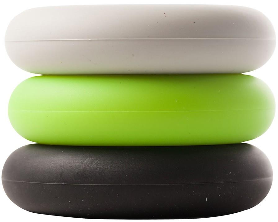 So iLL 3 Pack Strength Trainer Hand Exerciser, Green/Black/White