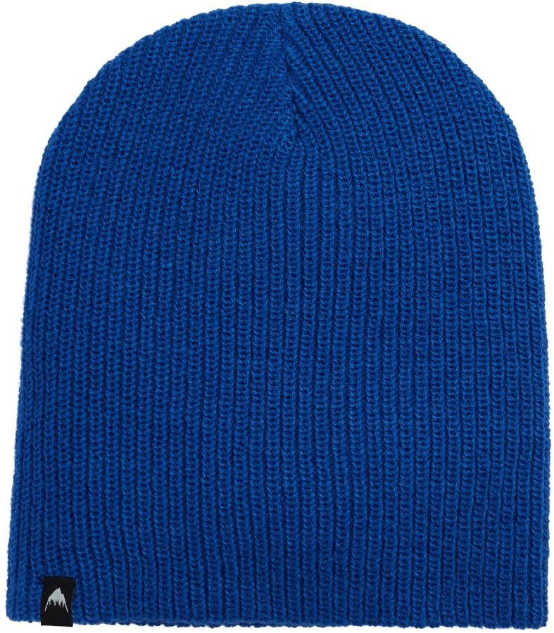 Burton Adult Unisex All Day Long Slouch Ski/Snowboard Beanie, One Size Lapis Blue