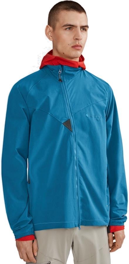 Klattermusen Mithril WindStretch™ Softshell Jacket, M Blue Sapphire