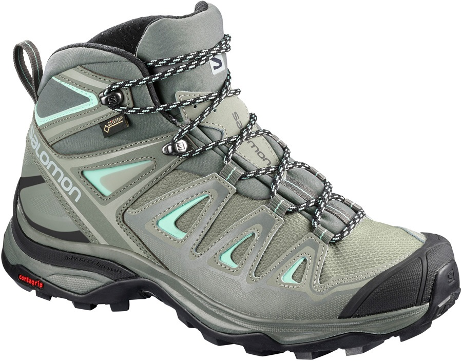 Salomon X ULTRA 3 Mid Gore-Tex Hiking Boots, UK 4 Shadow