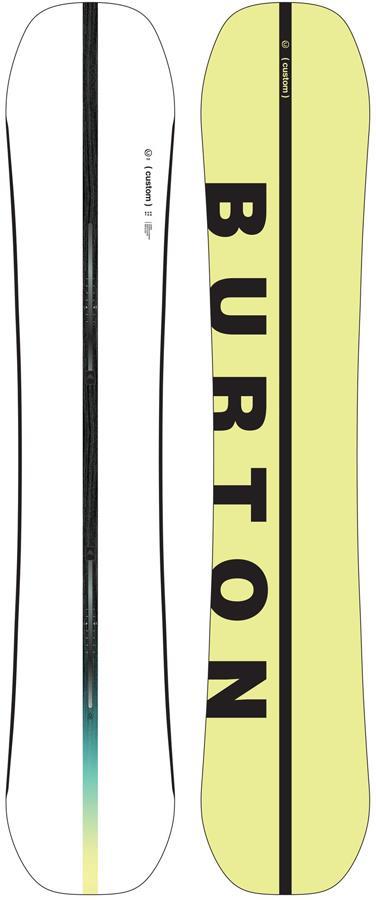 Burton Custom Positive Camber Snowboard, 154cm 2022