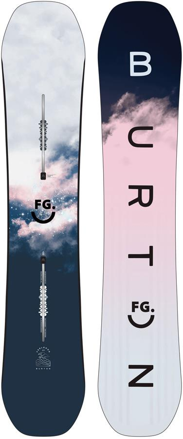 Burton Feelgood Womens Positive Camber Snowboard, 146cm 2022