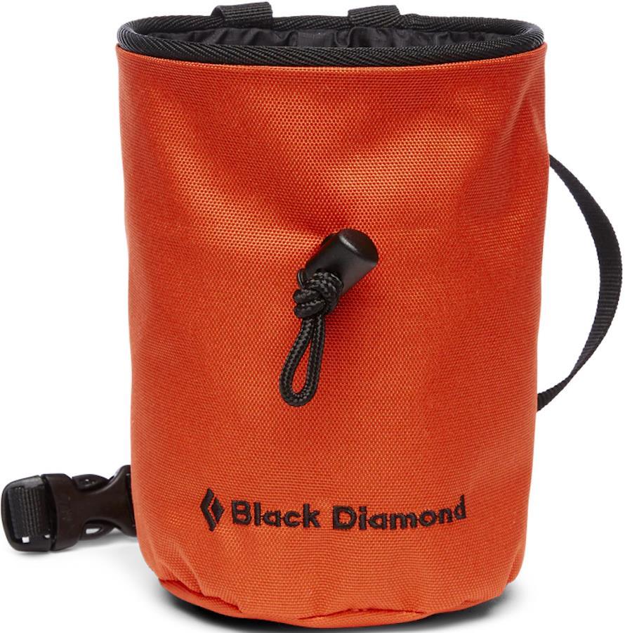 Black Diamond Mojo Rock Climbing Chalk Bag, M/L Octane
