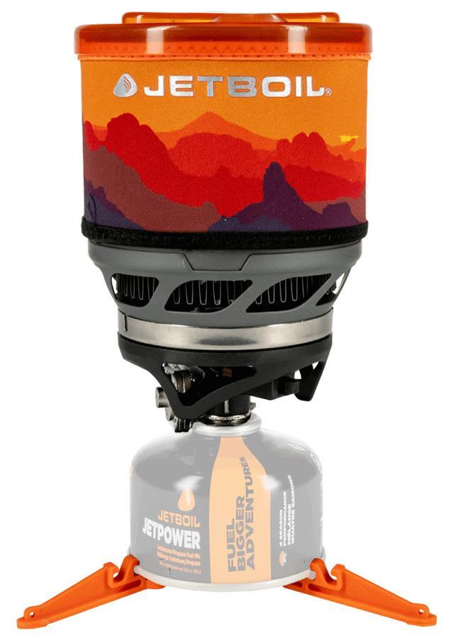 Jetboil MiniMo Compact Hiking Stove 1L Sunset