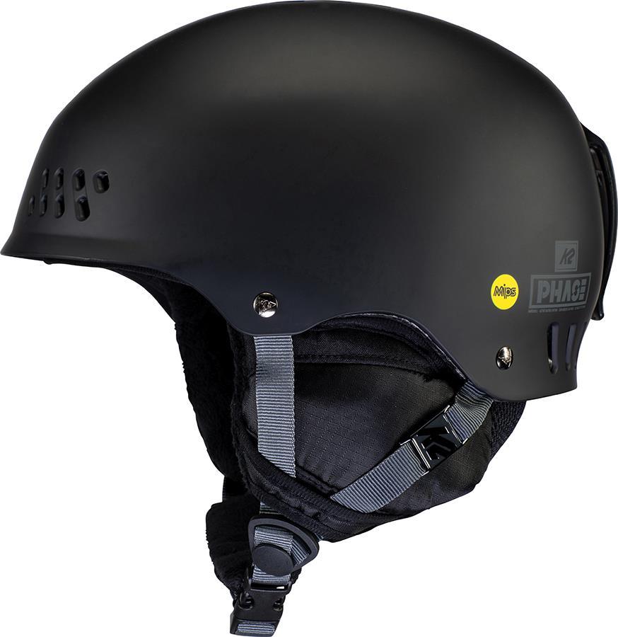 K2 Phase Pro MIPS Ski/Snowboard Helmet, M Black