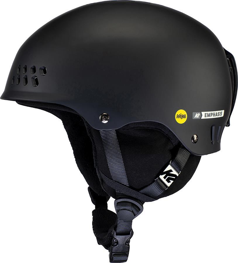 K2 Emphasis MIPS Women's Ski/Snowboard Helmet, S Black