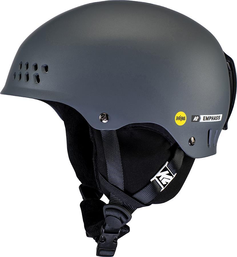 K2 Emphasis MIPS Women's Ski/Snowboard Helmet, M Charcoal