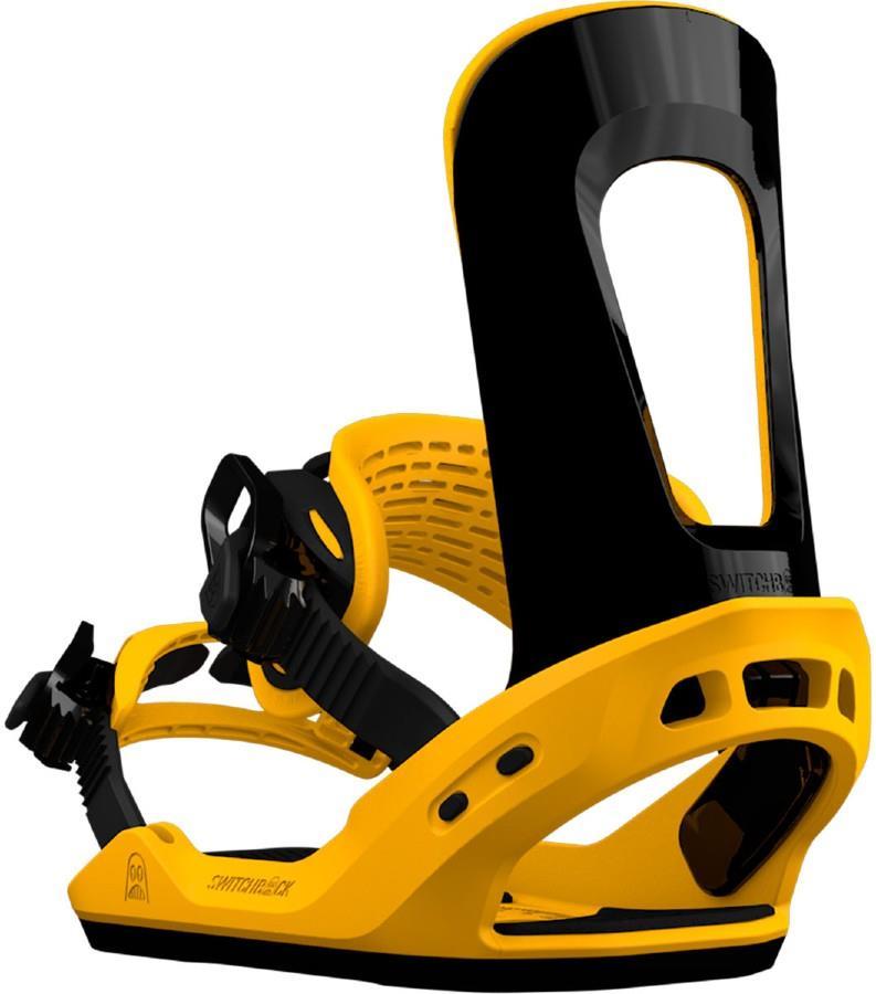 Switchback Lobster Jib Snowboard Binding, S Yellow/Black 2018