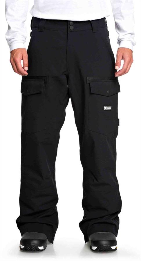 DC Code 15K Waterproof Ski/Snowboard Shell Pants, L Black