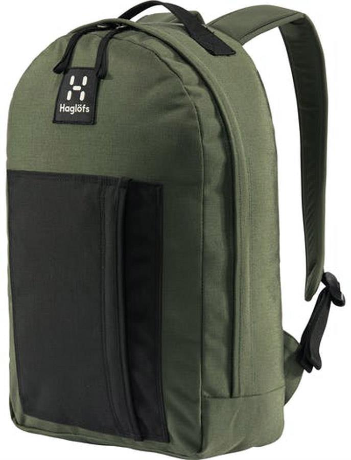 Haglofs Floda Hiking / Commute Daypack, 20L Green/Black