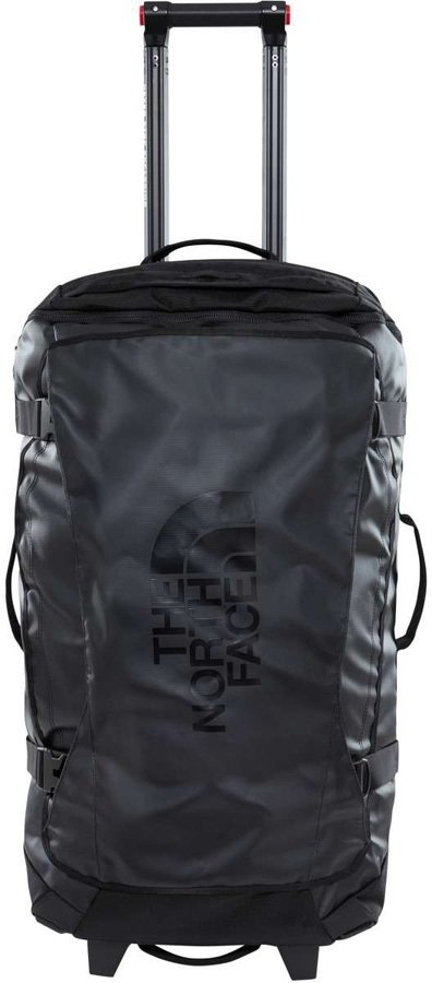 """North Face Rolling Thunder Wheeled Luggage Bag, 22"""" 40L TNF Black"""