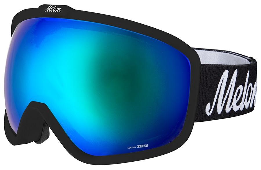 Melon Jackson Blue Chrome Snowboard/Ski Goggle, M/L Black