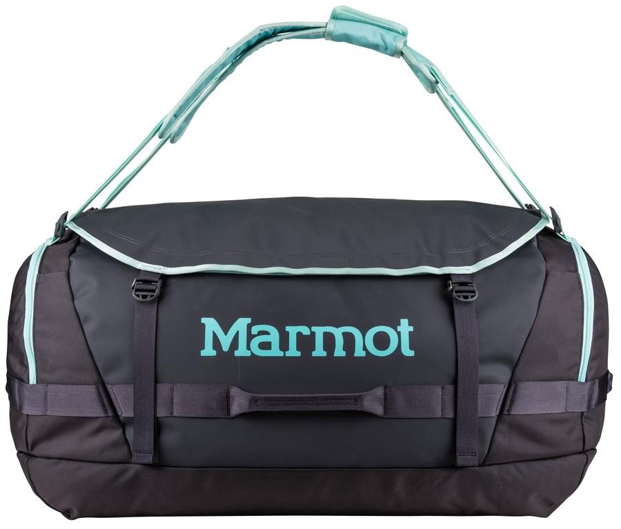 Marmot Long Hauler Duffel Travel Bag - 105L, Dark Charcoal / Blue Tint