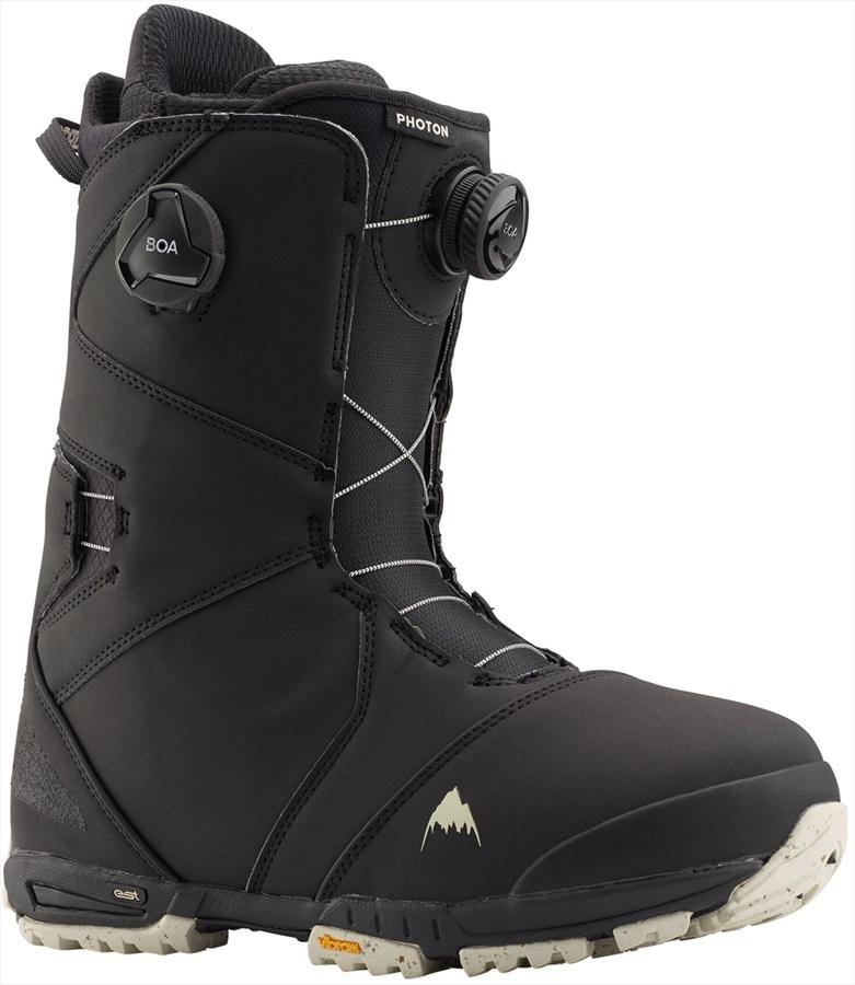 Burton Photon BOA Men's Snowboard Boots, UK 8 Black 2021