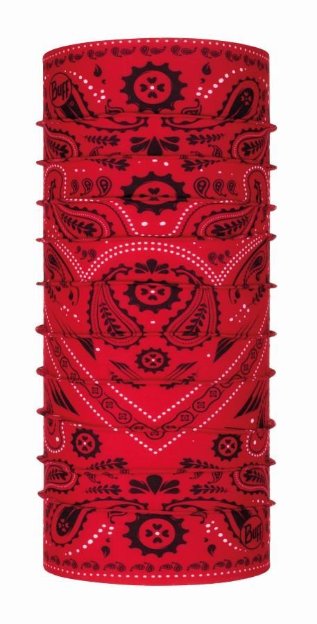 Buff Original Chube Micro-Fibre Snood Gaiter OS New Cashmere Red
