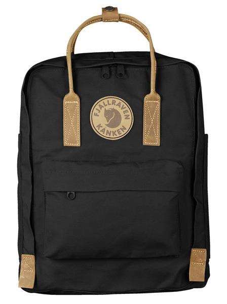 Fjallraven Kanken No.2 Day Pack/Backpack, 16L Black