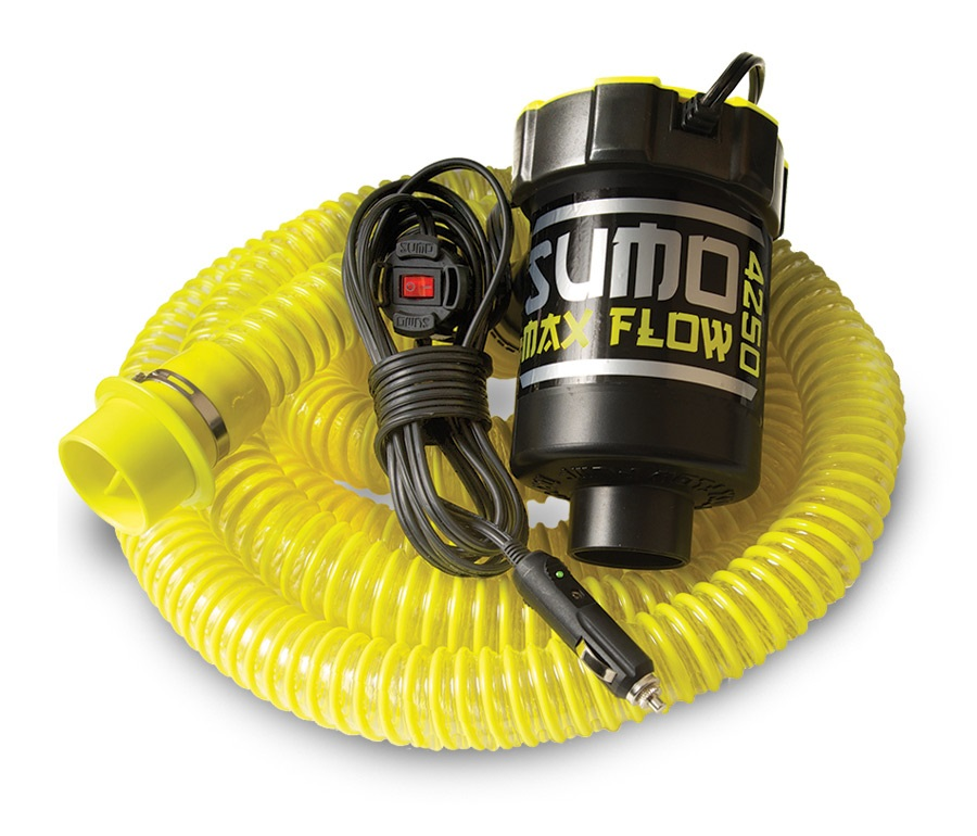 Straight Line Max Flow Ballast Bag Sumo Pump 200lbs/m Yellow