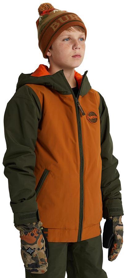 Burton Gameday Boy's Snowboard/Ski Jacket, M True Penny