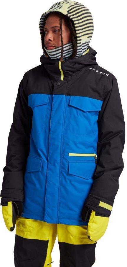 Burton Adult Unisex Covert Ski/Snowboard Jacket, L True Black/Lapis Blue