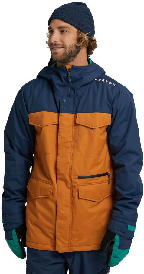 Burton Covert Ski/Snowboard Jacket M Dress Blue/True Penny