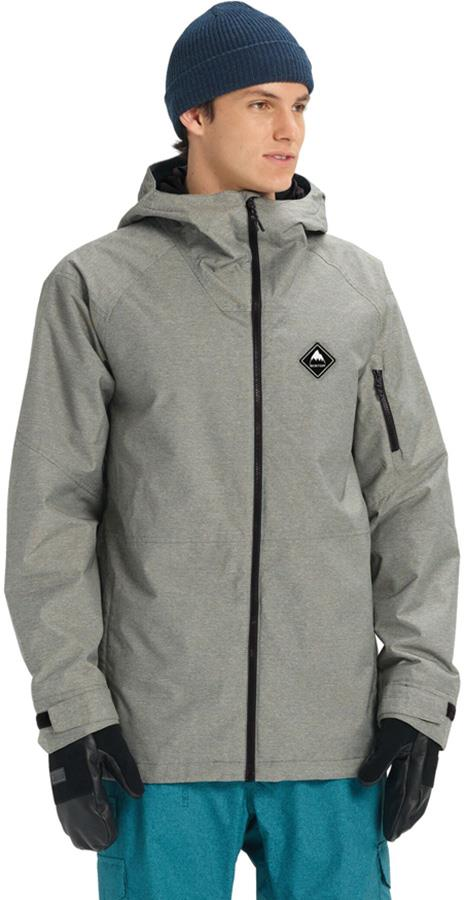 Burton Hilltop Snowboard/Ski Jacket, M Shade Heather