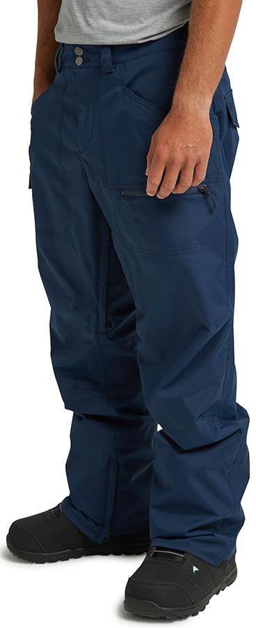 Burton Covert Snowboard/Ski Pants, S Dress Blue