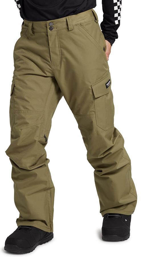 Burton Men's Cargo Snowboard/Ski Pants L Martini Olive