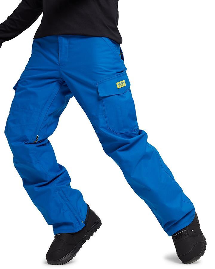 Burton Cargo Snowboard/Ski Pants S Lapis Blue