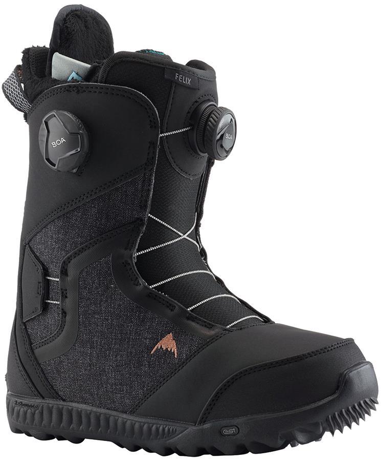 Burton Felix Boa Women's Snowboard Boots, UK 4.5 Black 2021