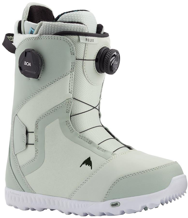 Burton Felix Boa Women's Snowboard Boots, UK 4.5 Neo-Mint 2021