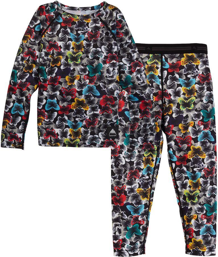 Burton Lightweight 1st Layer Toddlers' Thermal Set, Age 4 Butterfly
